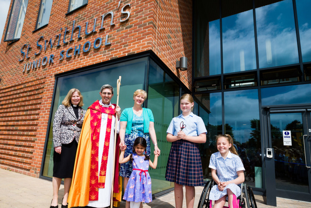 St Swithun's Junior School's new building officially opened