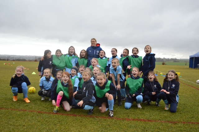 Junior Football with Arsenal Ladies Fc
