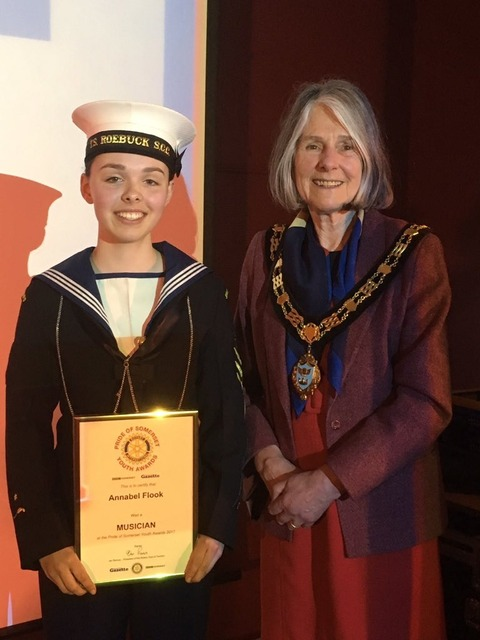 Heroic channel swimmers and Lord Lieutenant Cadet scoop Pride of Somerset Awards