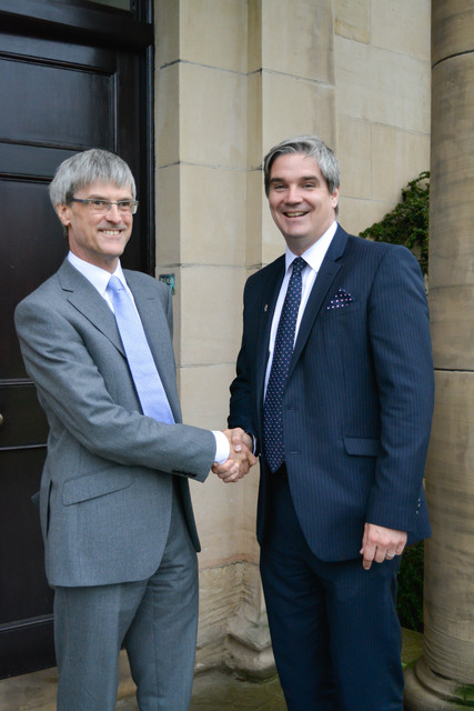 New Headmaster at the helm of the Blue Coat School