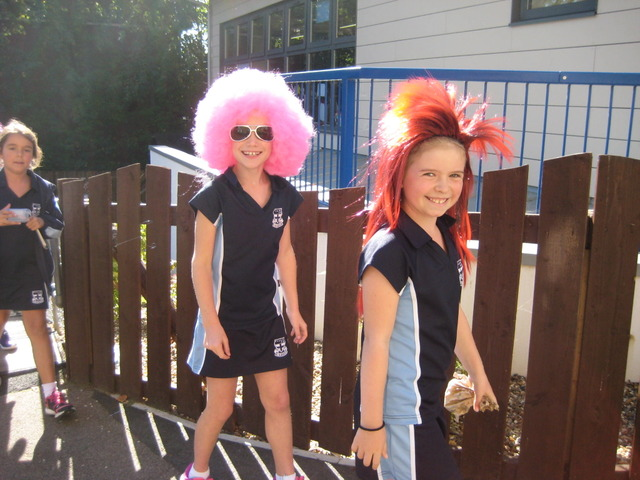Wacky Wigs for Shooting Star Chase Children's Hospice