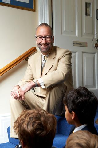 Headmaster, Martin Morris