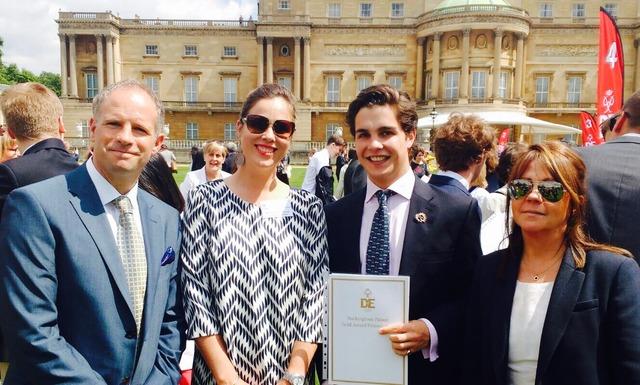 Conrad Humphreys, Mrs Hamilton and Edward Hamilton buckingham Palace