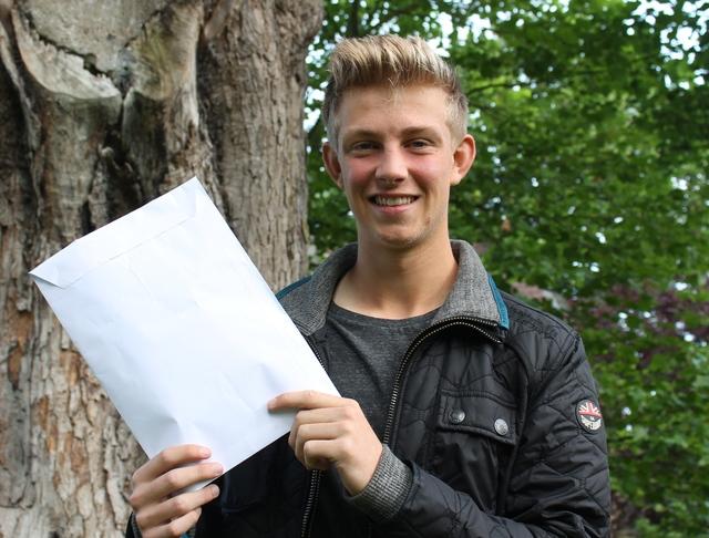 GCSE 2015 STP Will Huffer Goalkeeper