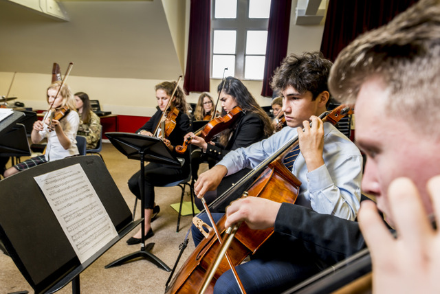 Music is very strong at West Buckland, with orchestras, ensembles, choirs and bands throughout the age groups