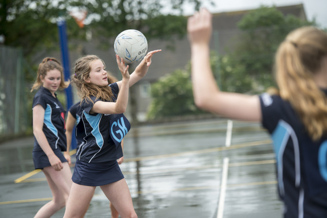Girls sport is very strong, with our netball and tennis teams, in particular, competing on a regional and national level