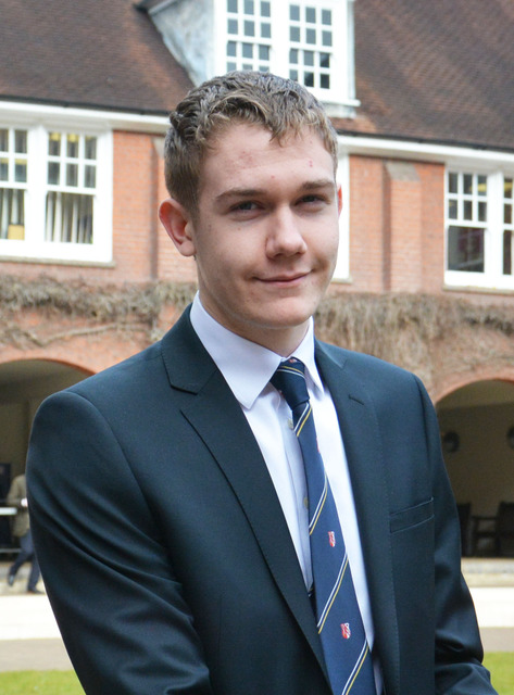 Berkhamsted School student claims a clean sweep of six A* at A Level