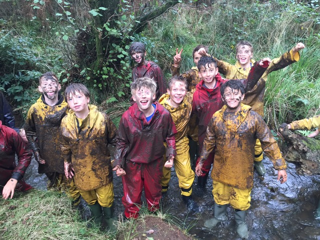 Team building with Year 7