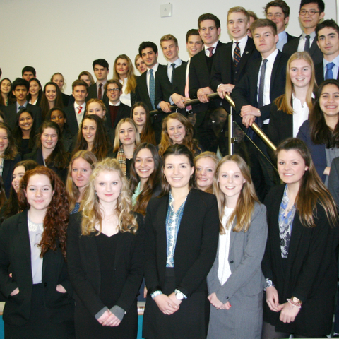 Oakham School's successful IB students