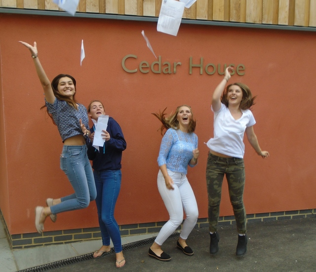 St Mary's girls celebrate excellent A level results