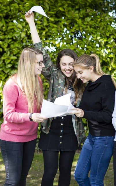 Heathfield Girls Celebrate Record A Level Results