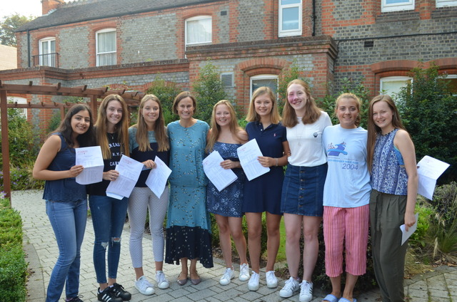 GCSE Delight for St George's Ascot Students