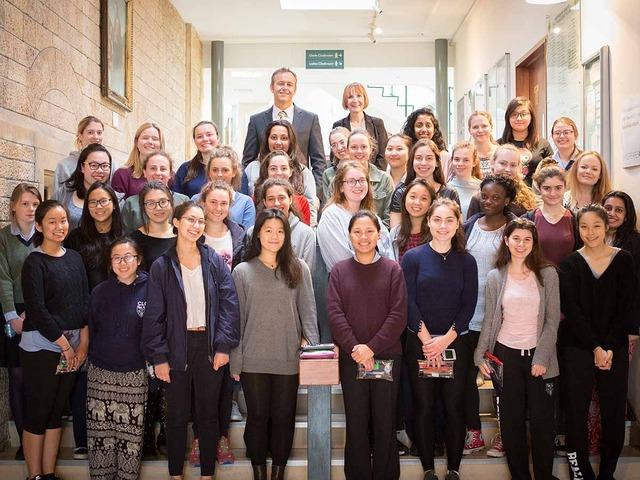 More pupils than ever celebrate top IB results at CLC