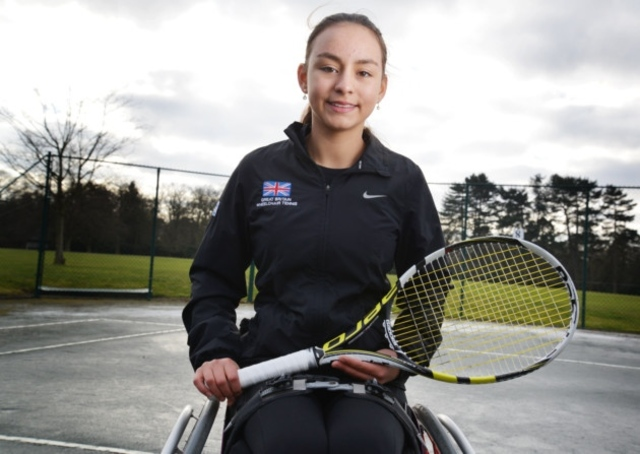 Queenswood Student Wins World U18 Doubles Title in Wheelchair Tennis