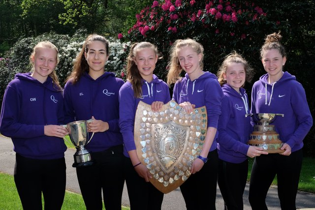 Queenswood Tennis Stars Make History at Harpenden Doubles