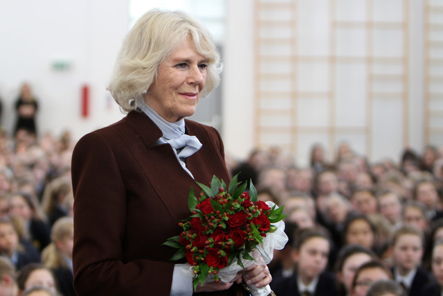 The Duchess of Cornwall becomes Patron of St Catherine's School, Bramley