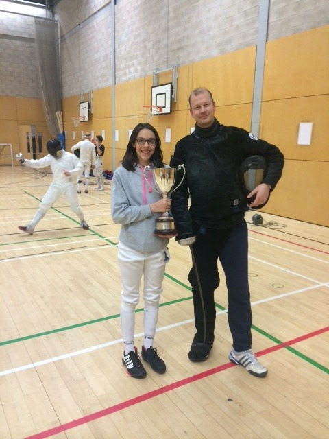 St Swithun's National Fencing Champion