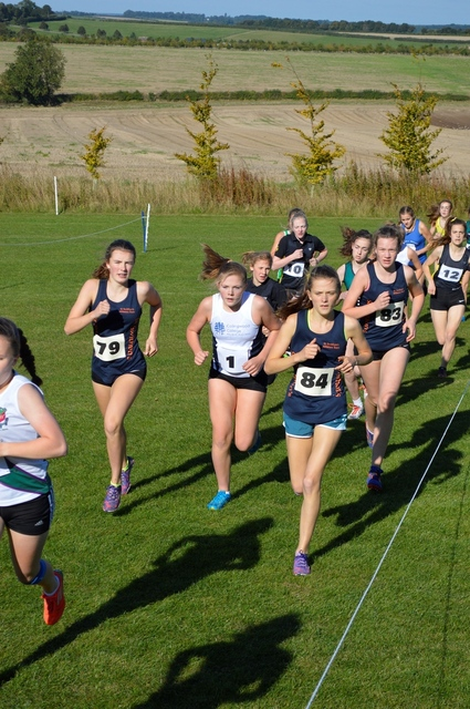 St Swithun's winners at ESAA cross country cup competition