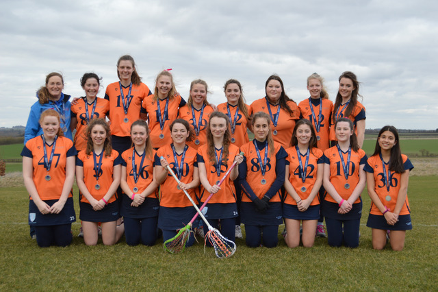 St Swithun's 2nd Lacrosse Team Runners-up at Nationals