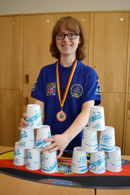 World Sport Stacking – top ten place