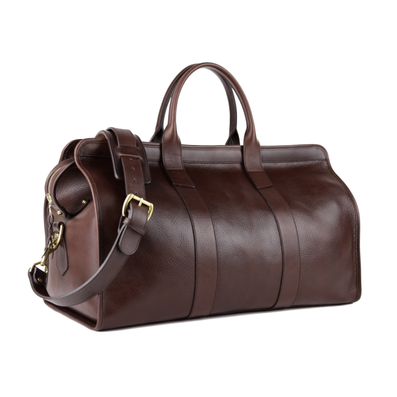 Frank Clegg - Chocolate Signature Travel Duffle  cf53c804f4f92