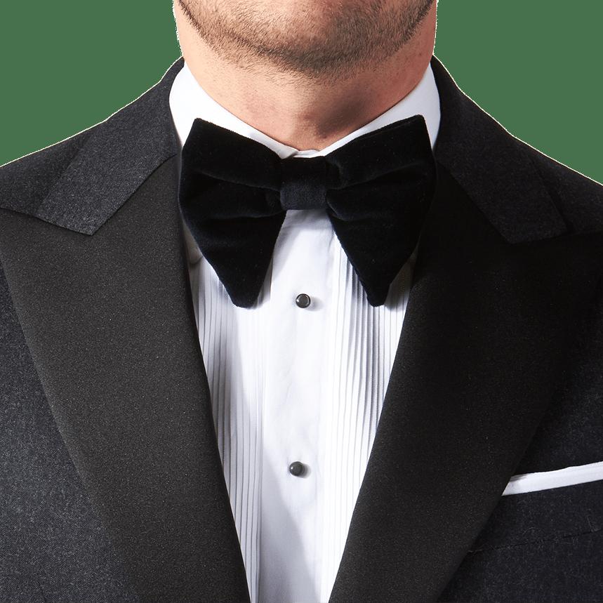 8e20a23e4ae242 Morris Heritage - Dark Grey Flannel Tuxedo | Baltzar