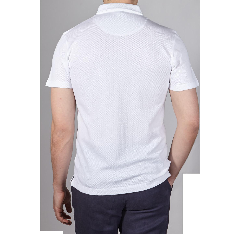37b2d238 Sunspel - White Short Sleeve Riviera Polo | Baltzar