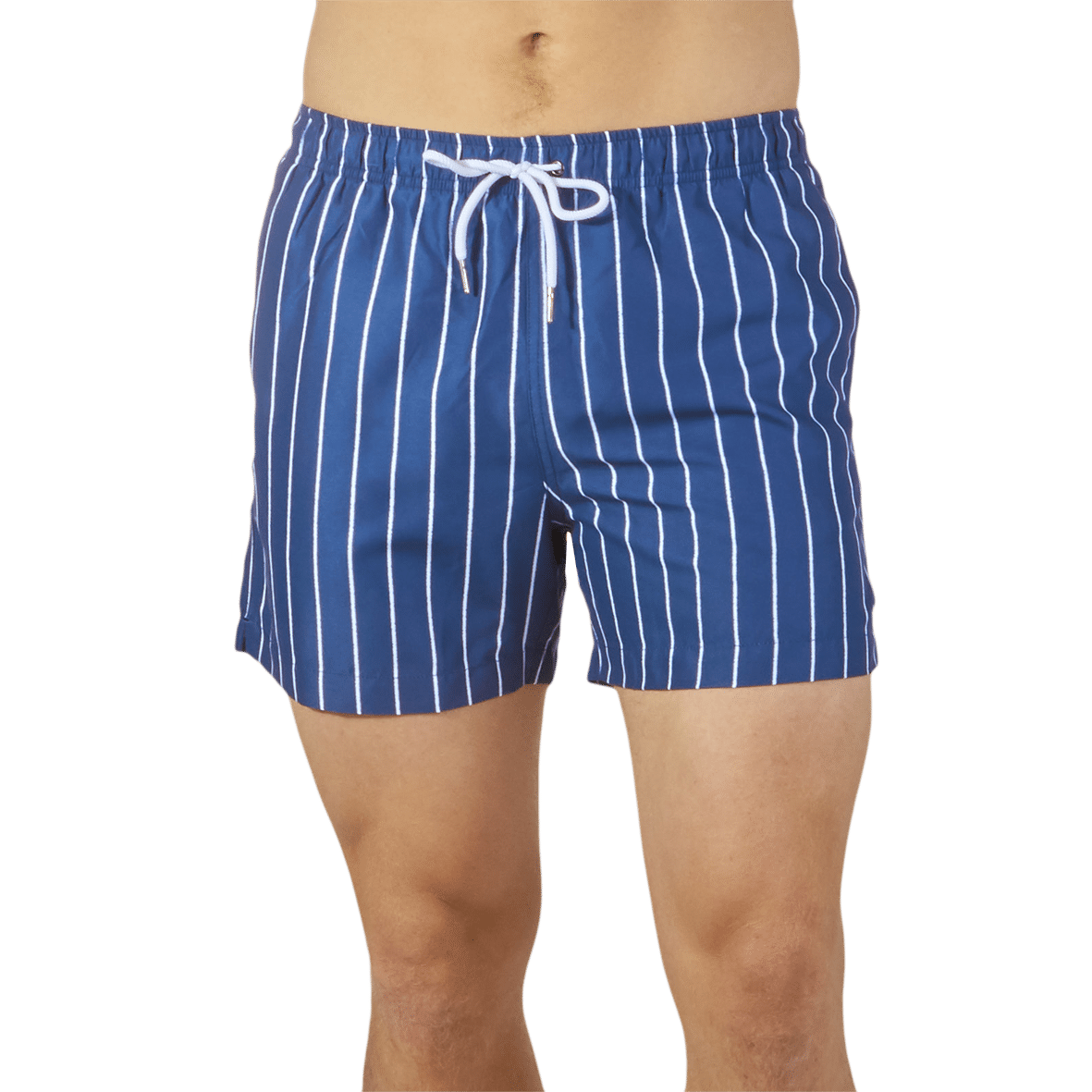 494fc82036c5 Suit Up Weird - Blue Pinstripe Daiquiri Swim Shorts | Baltzar