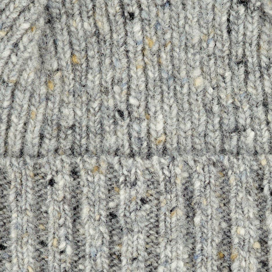4a12029fd4f Drake s - Grey Merino Wool Donegal Hat