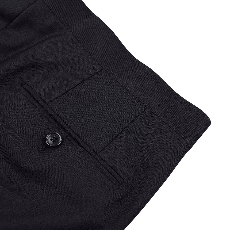 19e67cb987ec7f Lardini - Midnight blue ribbed lapel dinner suit | Baltzar