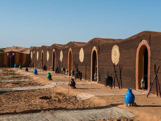 tentenkamp Marokko.
