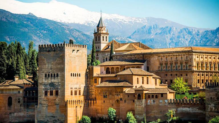 Het Alhambra in Granada