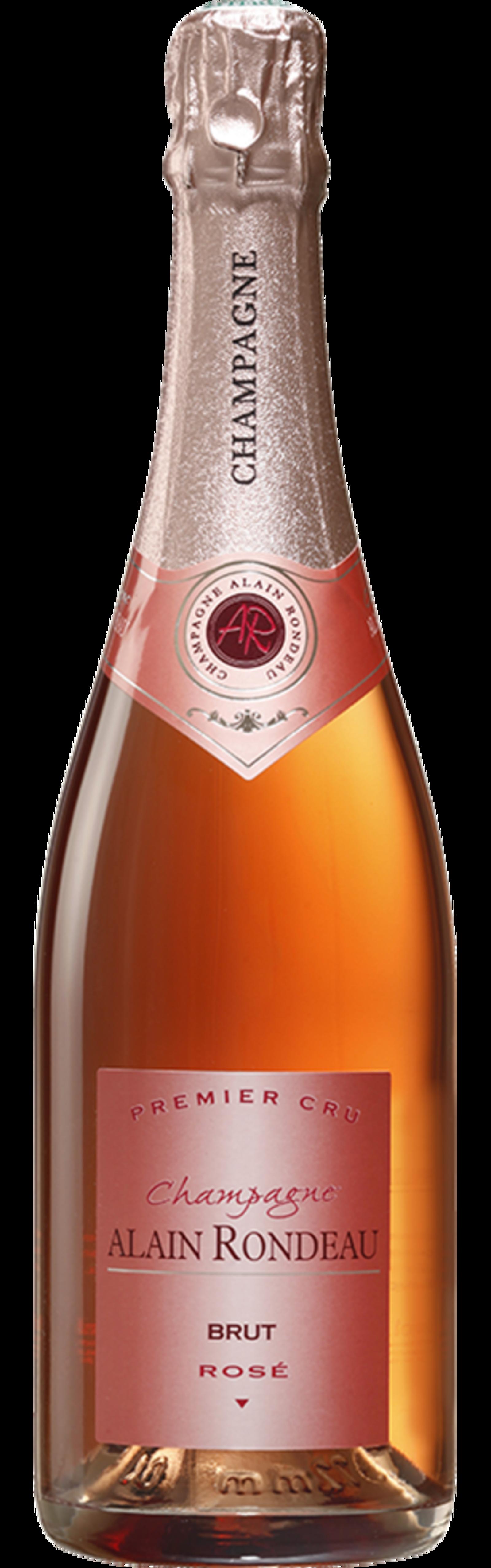 Bouteille de Champagne Cuvée Rosé