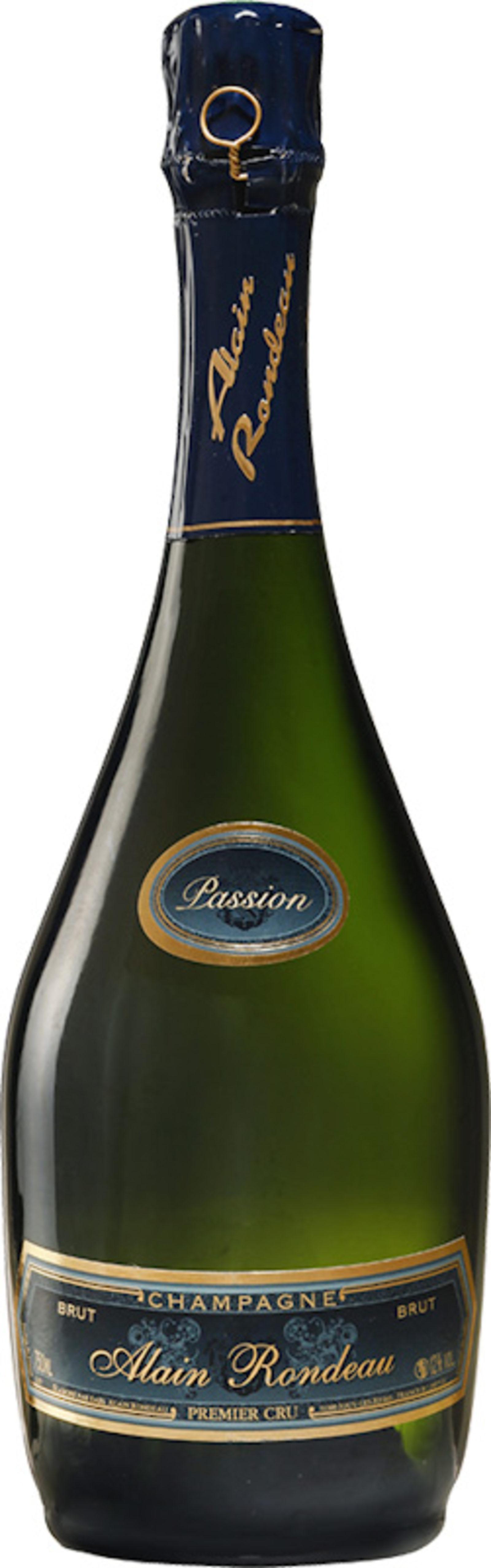 Bouteille de Champagne Cuvée Passion