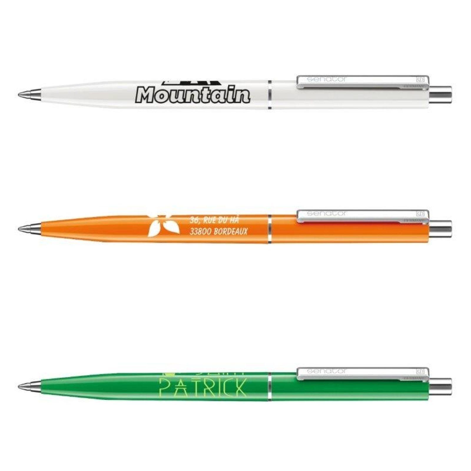 500 stylos Vintage, logo 1 couleur inclus