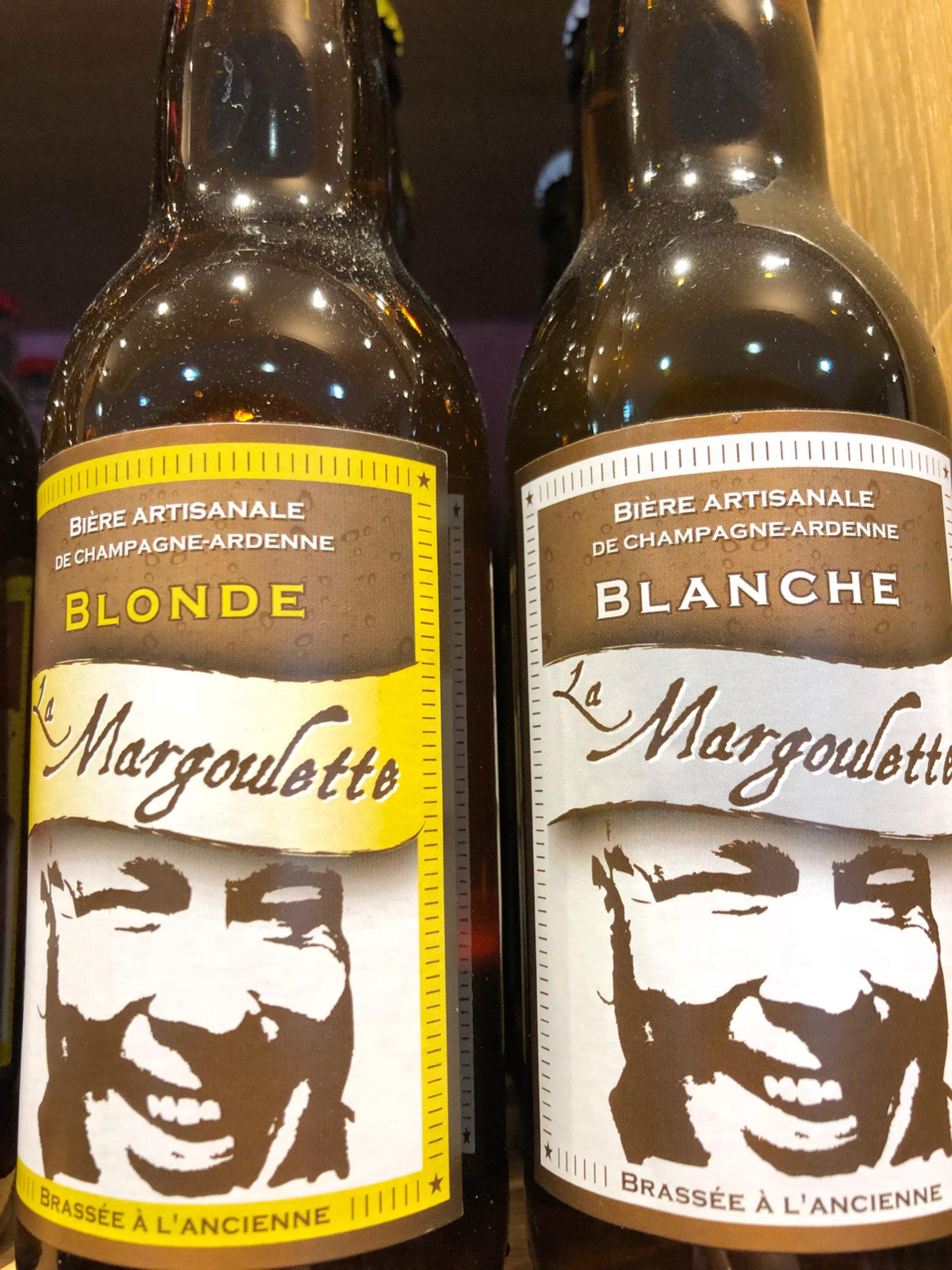 """Bière Artisanale """"La Margoulette """""""