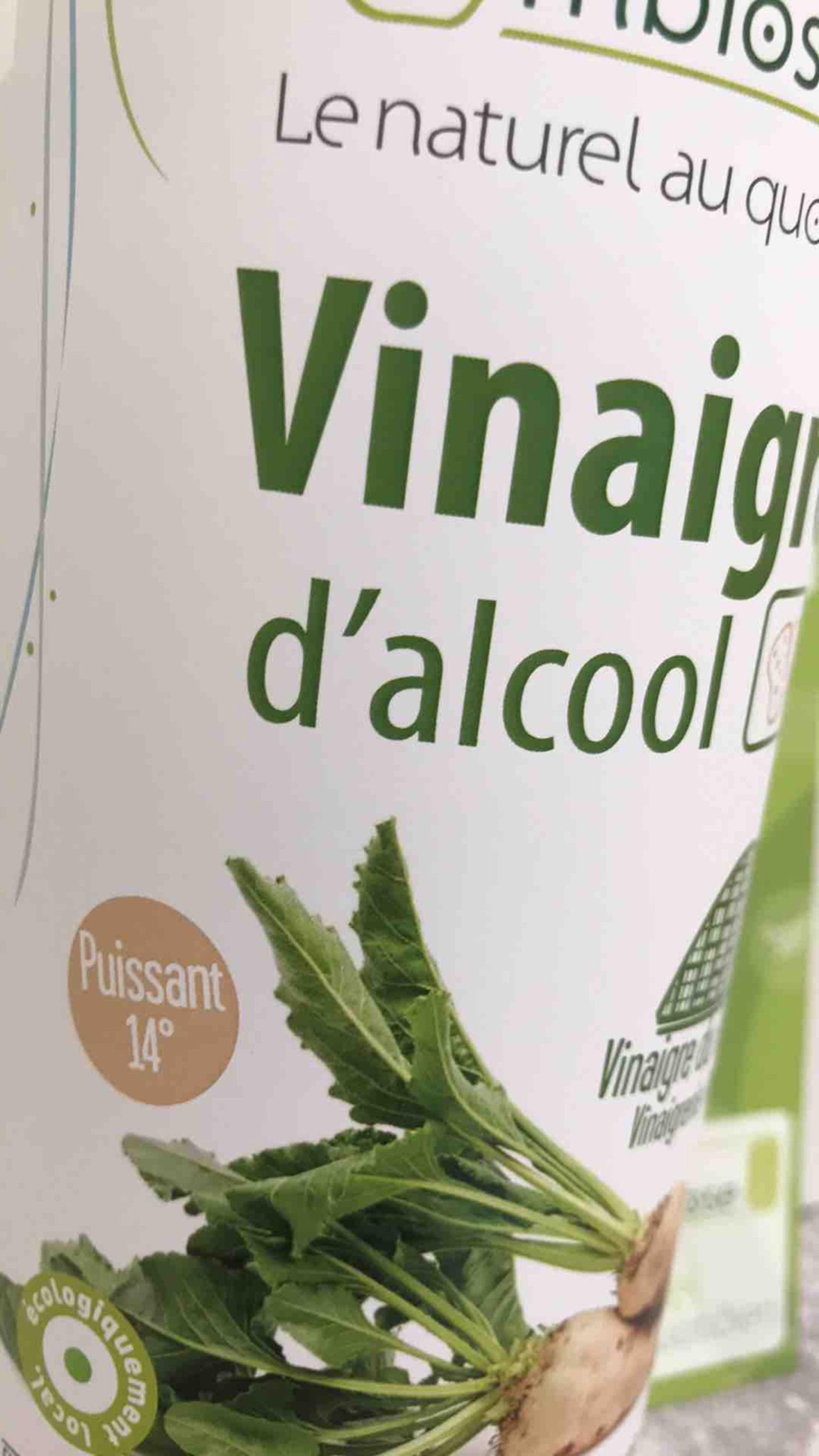 Vinaigre d'Alcool 14° 1L