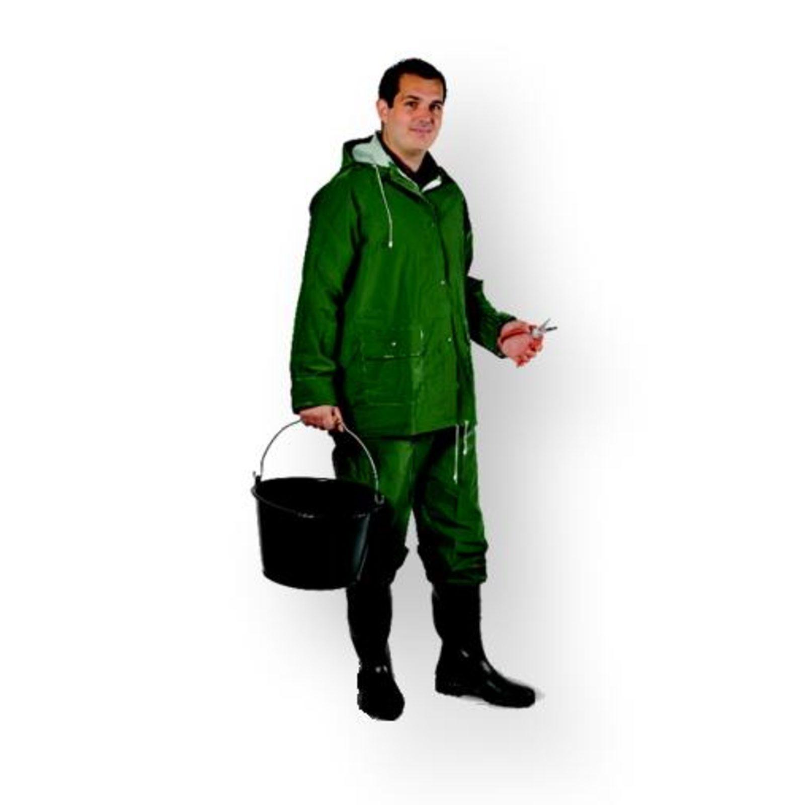 Ensemble de pluie vert 400 - xl