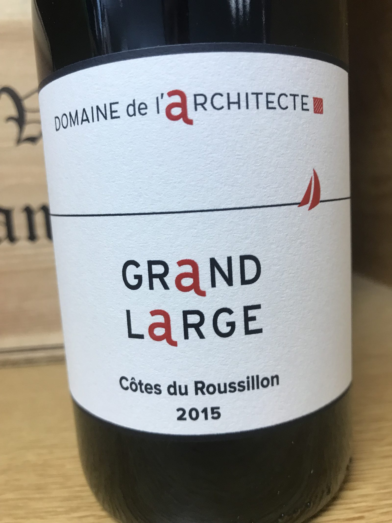 COTES DU ROUSSILLON GRAND LARGE ROUGE