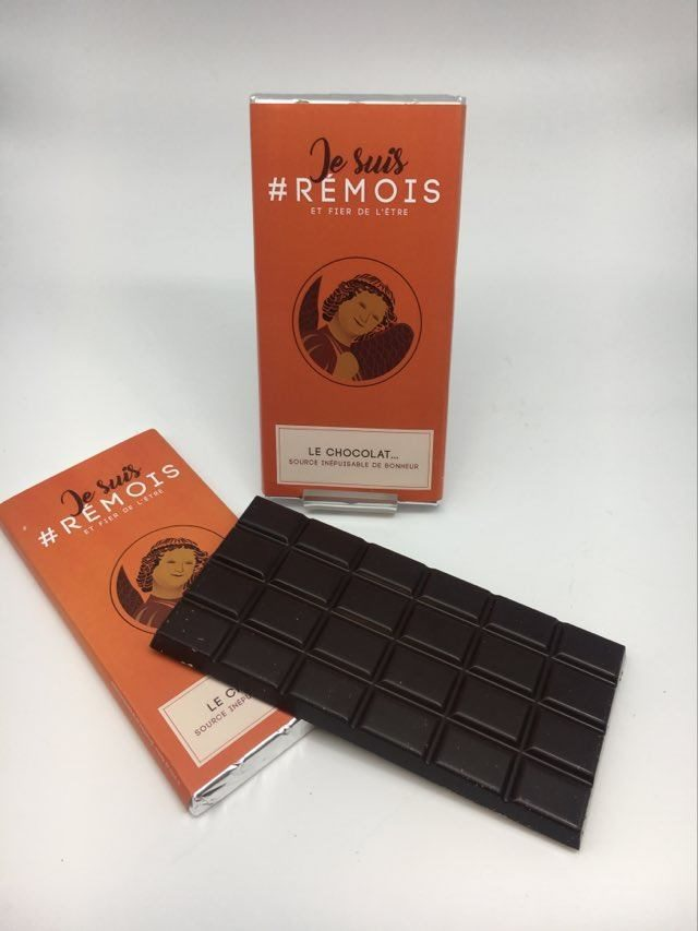 #je suis rémois AS chocolat noir