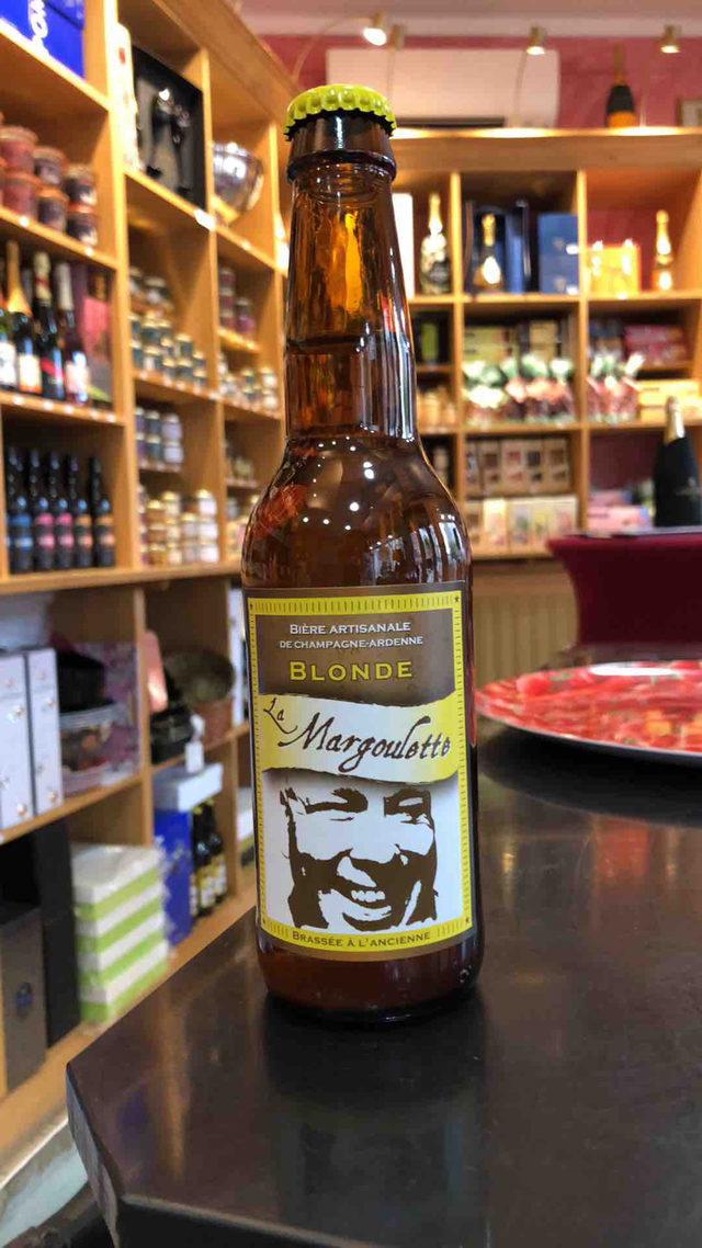 """Bière Blonde Artisanale """"La Margoulette """""""