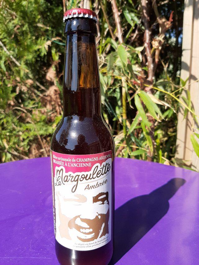 Bière La Margoulette ambrée 33 cl