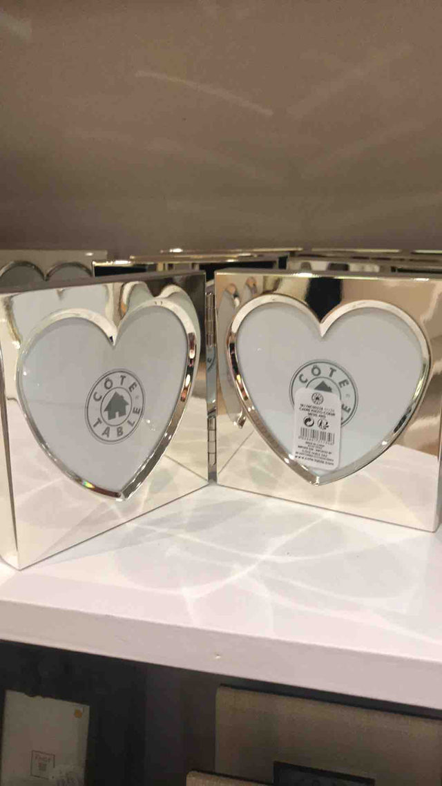 cadre photo cœur