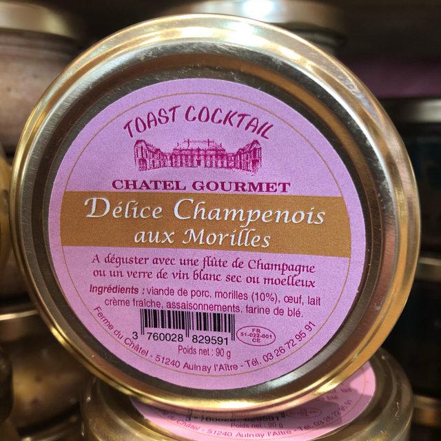 Délice Champenois aux Morilles