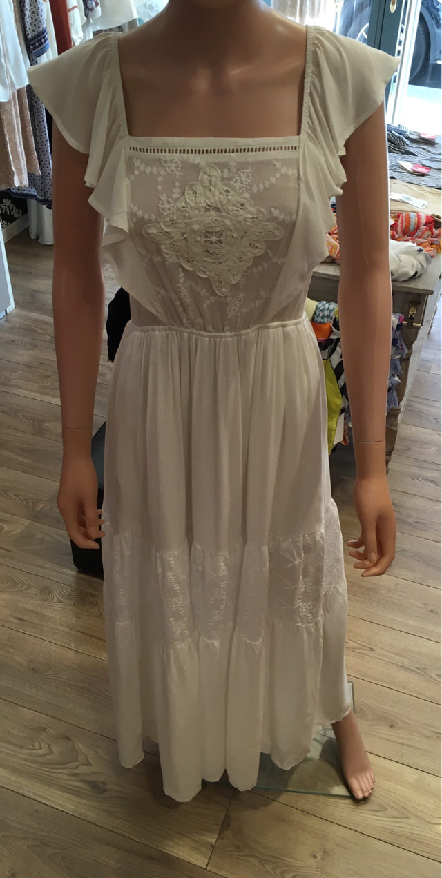 Robe longue taille S.