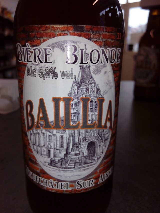 Bière Baillia blonde 33 cl