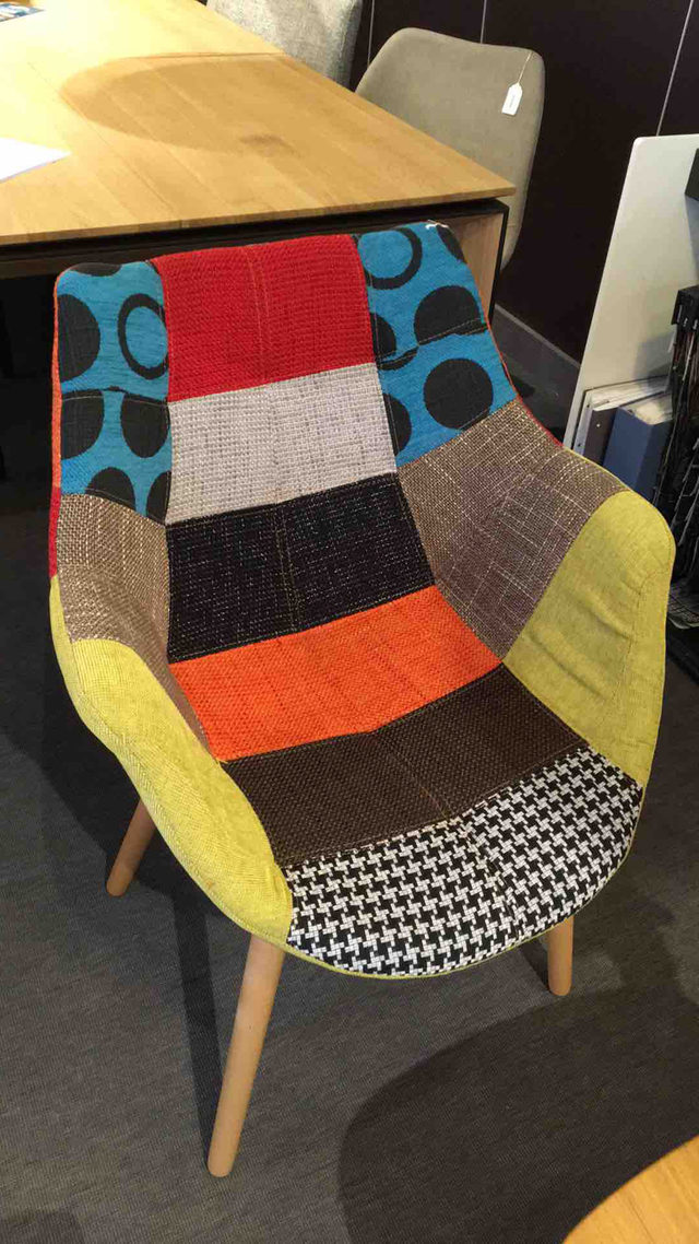 Chaise eleven patchwork
