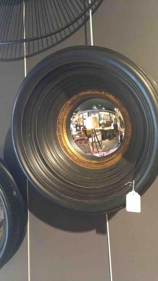 Miroir convex