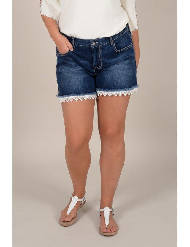 short en jean taille 48
