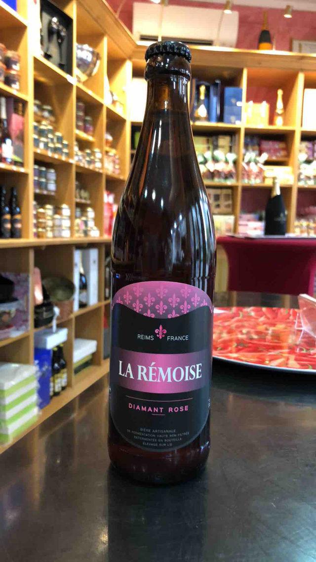"""Bière Artisanale """"La Rémoise"""" Rosé"""